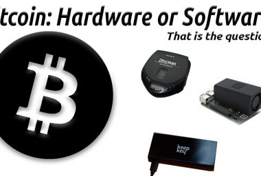 Bitcoin: Hardware or Software? That Is The Question