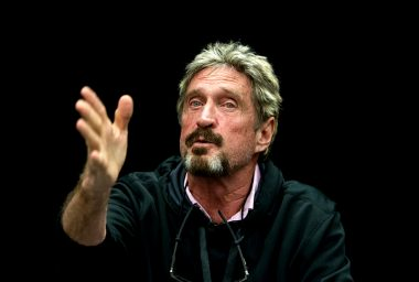 John McAfee Joins Blockchain Firm's Security Committee