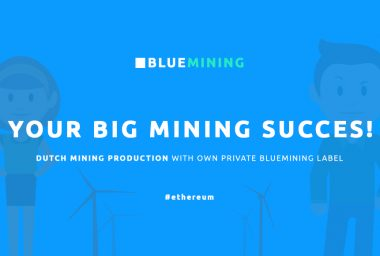 PR: Bluemining.net Cloud Mining Allows Anyone To Mine Ethereum