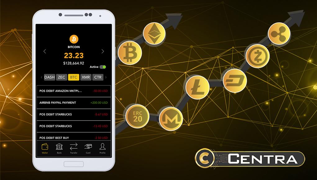 Centra Crypto Debit Card