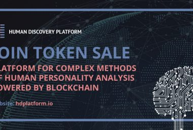 PR: Human Discovery Platform Token Sale Is Officially Opened