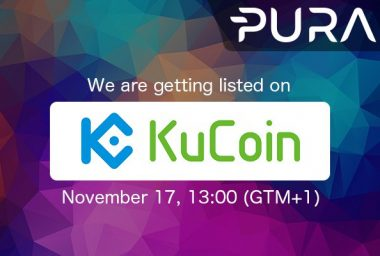 PR: Pura to Be Listed on Kucoin Exchange: Trading Starts on Friday November 17