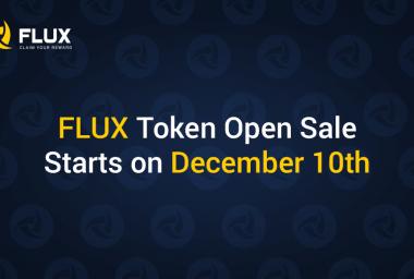 PR: Flux Gaming Platform Announces the Start of Token Sale on December 10