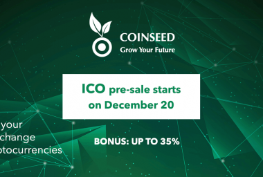 PR: Investing Platform Coinseed Announces ICO Pre-Sale for Spare Change Investment in Cryptos