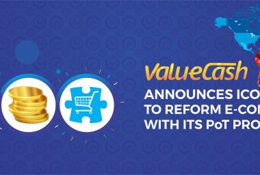 PR: ValueCash Announces ICO to Reform E-Commerce with Its PoT Protocol