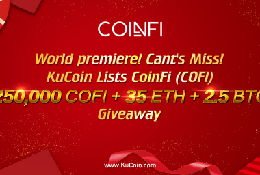 PR: KuCoin Becomes First Cryptocurrency Exchange to List Coinfi (COFI) Token on Jan 29, 2018