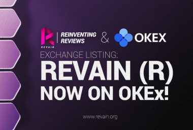 PR: Revain Token Gets Listed on OKEx