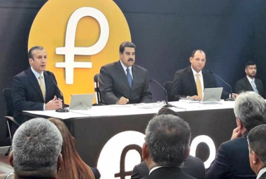 Venezuela Says Pre-Sale of Oil-Backed Petro Cryptocurrency Has Raised $735 Million