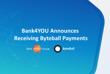 PR: Bank4YOU Announces Receiving Byteball Payments