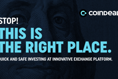 PR: New Cryptocurrency Exchange Market - CoinDeal.com