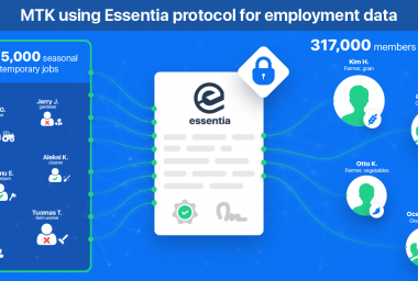 PR: Essentia to Become First Blockchain Based Solution from Finnish Government Through Collaboration with MTK