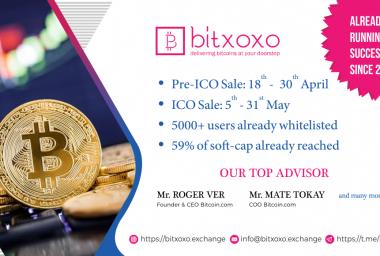 PR: Bitxoxo Exchange Has Launched Its Own ICO Token