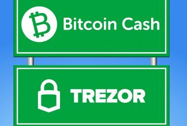 Trezor to Implement Bitcoin Cash Addresses