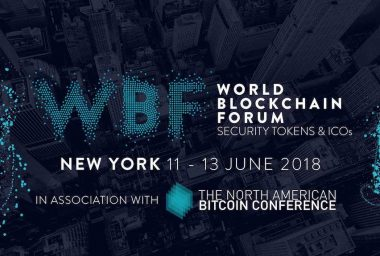 PR: World Blockchain Forum - New York's Better Blockchain Conference