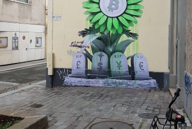 Bitcoin Graffiti: How the Economic Revolution Has Painted the Streets