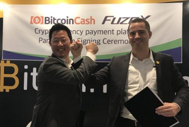 PR: FuzeX Partners with Bitcoin.com - Adds BCH to FuzeX Cards, Drops BTC