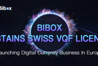 PR: Bibox Gains Swiss VQF License - Accelerating Global Expansion