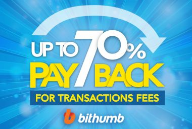 PR: Bithumb to Refund New Users up to 70% on Fees