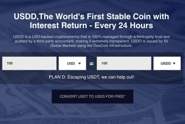 PR: Debut of USDD - A Stable Coin That Pays You Interest