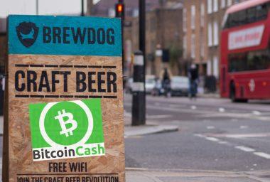 Brewdog Brand Welcomes Bitcoin Cash