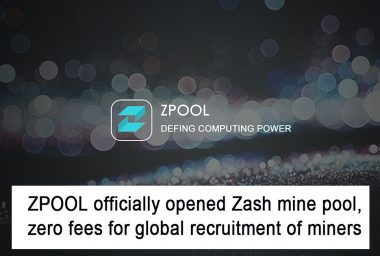 PR: ZPool Launches ZCash Mining Pool