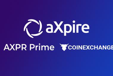 PR: aXpire.io Updates - AXPR HODL Initiative and CoinExchange.io Listing