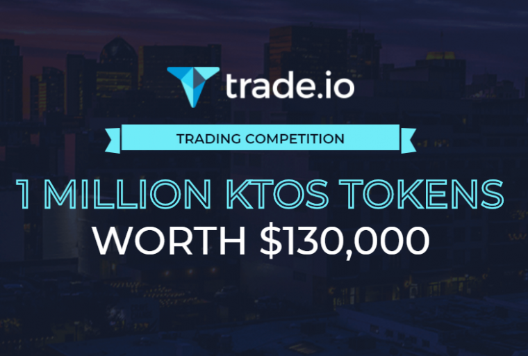 PR: trade.io Turns up the Heat With Massive Airdrop - Attractive Trading Competition