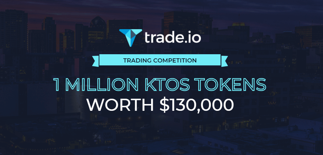 trade.io Turns up the Heat With Massive Airdrop - Attractive Trading Competition