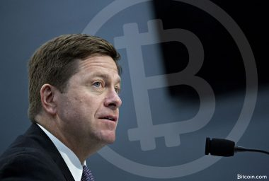 SEC Chairman Says Cryptocurrencies Like Ethereum Are Not Securities