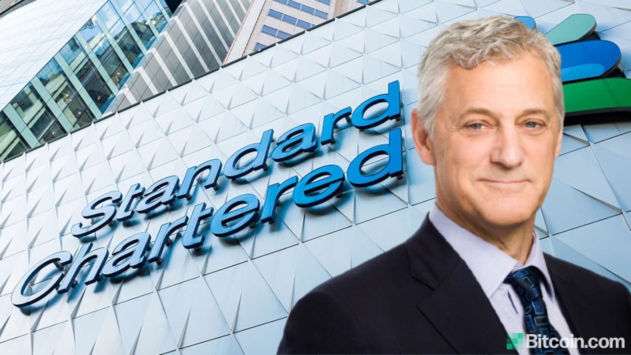 'Absolutely Inevitable': Standard Chartered Bank CEO Sees Widespread Cryptocurrency Adoption
