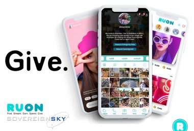 RUON.AI Announces Patents and Successful Upload Of SovereignSky Space Blockchain