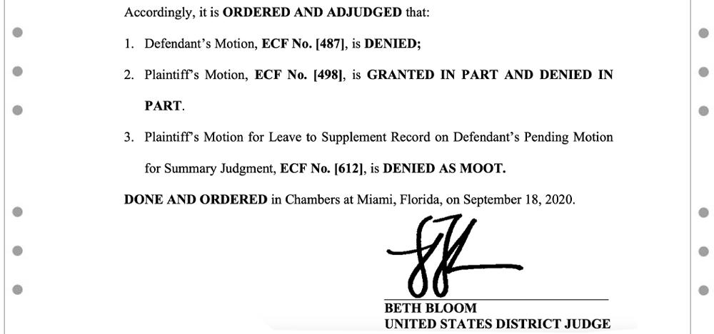 Craig Wright's Summary Judgment Denied - Billion Dollar Bitcoin Lawsuit Heads to Trial