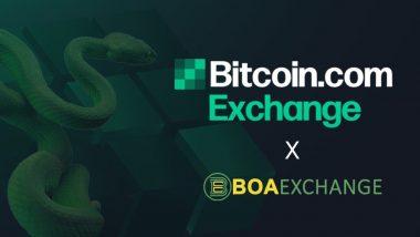 Bitcoin.com Exchange Acquires BOA Exchange To Reach New Markets
