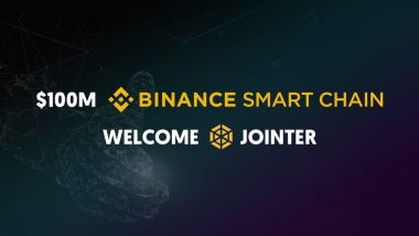 Jointer.io Matches Binance & CZ's $100 Million Challenge With Early Adopter Fund