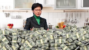 "Unbanked Hong Kong Chief Carrie Lam: ""I Have Piles of Cash at Home"""
